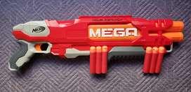 Escopeta NERF  MEGA DOUBLEBREACH B9597