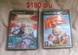 Juegos para Playstation 2 (Precio puesto es de los 4 juntos)