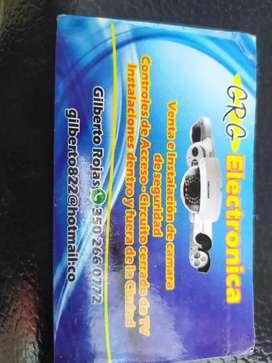 Instalación reparación y venta de cámaras de seguridad