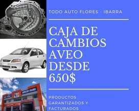 CAJA DE CAMBIOS PARA AVEO