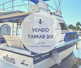 Crucero TARRAB 201. 8.95 eslora. Volvo PENTA 200HP Turbo Diesel. Pata VOLVO DP290