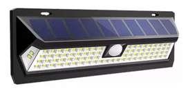 LUZ SOLAR 54 LED LUZ CONTINUA