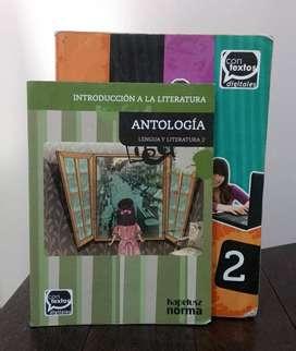 *Lengua y literatura 2 Prácticas del lenguaje* Contextos Digitales - Editorial Kapelusz Norma (Permutó)