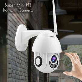 PTZ Camera Outdoor, 1080p Wireless Security IP Camera, 2.4G Wifi Pan Tilt 4X Zoom