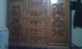 Vendo armario de 3 cuerpos de madera