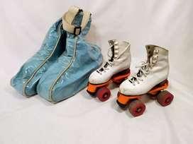 Patines para patin artístico talle 30 con bolso