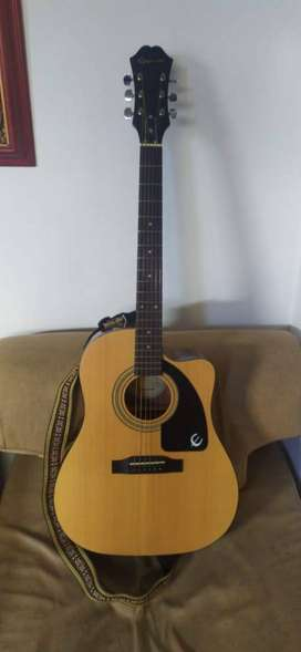 Guitarra Epiphone Electroacustica AJ 100 CE