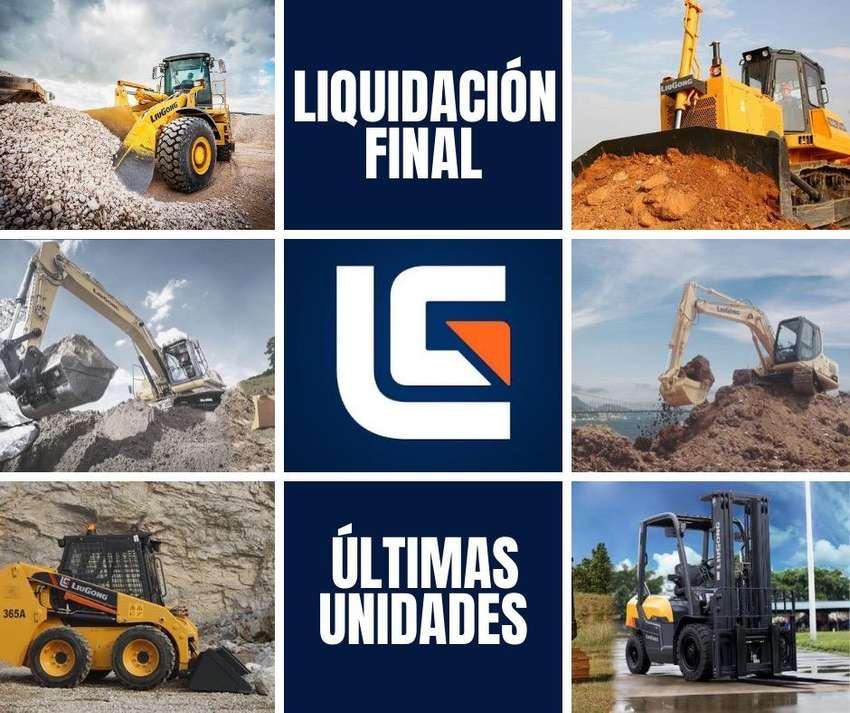 LIQUIDACION TOTAL LIUGONG. CARGADOR. TRACTOR DE ORUGA. EXCAVADORA. MONTACARGA.