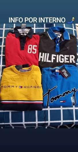 Camisetas y abrigos