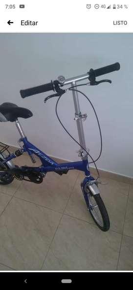 Bicicleta plegable importada Aezda