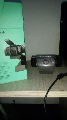 cámara  webcam logiteh C920s PRO