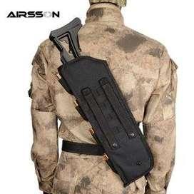 Mochilas para cargamentos de armas de tipo militar.
