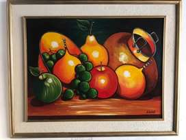 Cuadro de frutas bodegon