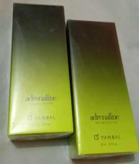 Perfume Spray Adrenaline Yanbal 75ml