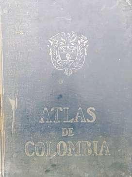 Vendo atlas de Colombia original