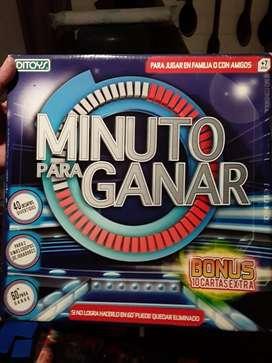 Juego MINUTO PARA GANAR (Ditoys)