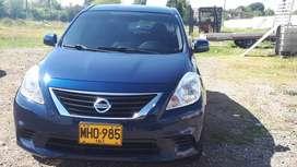 Vendo Nissan versa 2012 como nuevo