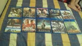 Vendo películas para abrir rey por categorías todo están sin rayon cada una 1.50