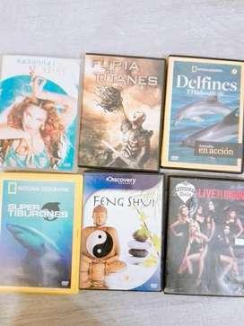 Dvd Películas Documentales