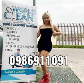 Lavado y limpieza de muebles colchones y mas WORLD CLEAN
