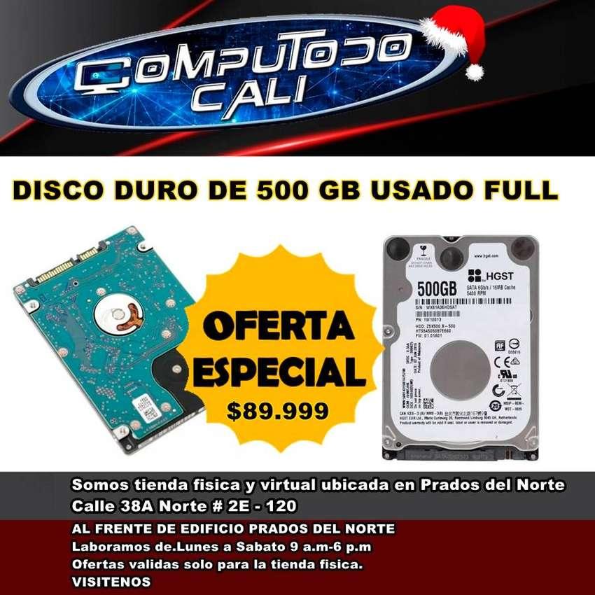 DISCO DURO 500 GB USADO FULL 0