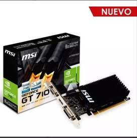 Tarjeta de video MSI GT710 low profile 2Gb