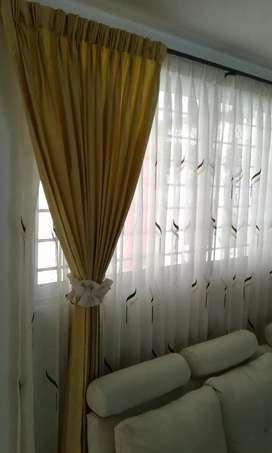 Fabricamos e instalamos cortinas tradicionales de tela