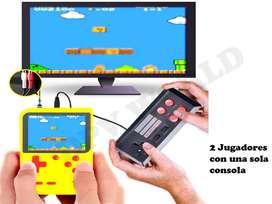 Consola Portatil Mini Nes Tipo Nintendo 400 Juegos  un control
