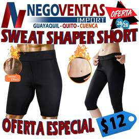 SWEAT SHAPER SHORT