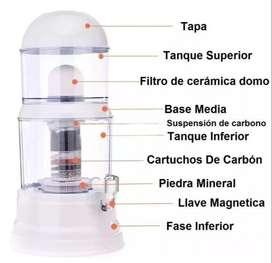 Filtro Purificador De Agua 14 litros Bioenergético Mineral 14 Litros