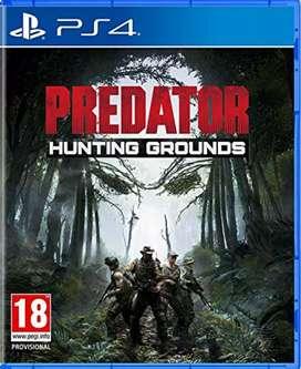 Juego PS4 PREDATOR HUNTING GROUNDS  nuevo!