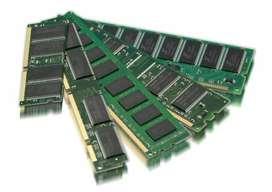 MEMORIAS PC DIMM / NOTEBOOK SODIMM / SDR DDR DDR2 DDR3