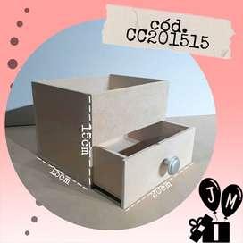 Cajas madera mdf