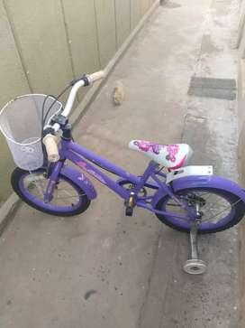 Bici para nena