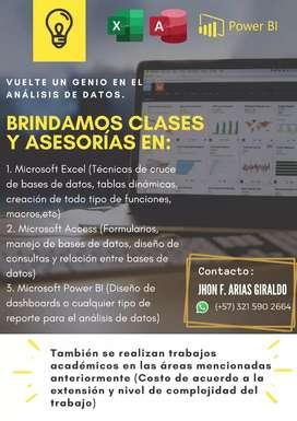 Clases de Microsoft Excel