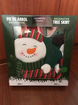 Pie de Arbol Navidad Decorativo 152 cmc