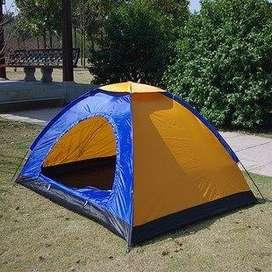 Carpa Camping Para 4 Personas Impermeable Acampar Tipo IGLU 2 x 2