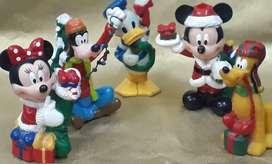 Colección Disney cinco figuras
