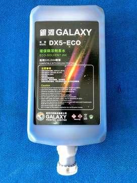 Tinta Eco Solvente Galaxy Dx5 en Cmyk