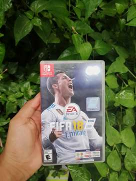 Se vende fifa 18 de nintendo switch 40 negociable