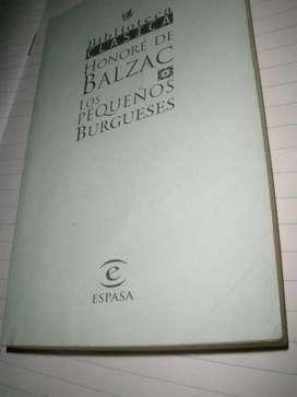 gp1160 Los Pequeños Burgueses.Honoré De Balzac