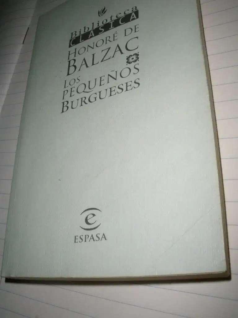 gp1160 Los Pequeños Burgueses.Honoré De Balzac 0