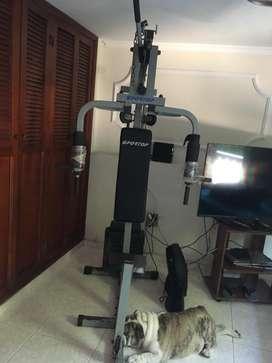 Máquina de gym completa