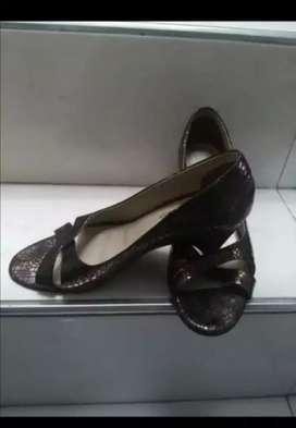 Zapatos en cuero t 36
