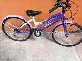 Vendo  Bicicleta Todo Terreno Niña