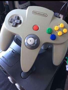 Nintendo 64 con Golden Y Control Nuevo