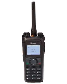 Radio Portátil Hytera Digital DMR PD986 IP68
