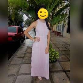 vestido para recepción