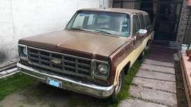 Chevrolet suburban 1979 usado