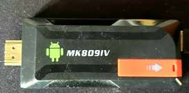 Convertir TV android MK809IV mini android TV